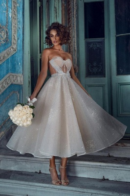 Gorgeous Short Wedding Dresses | Wedding dresses glitter cheap