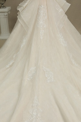 Extravagant wedding dresses A line | Wedding dresses with lace_8