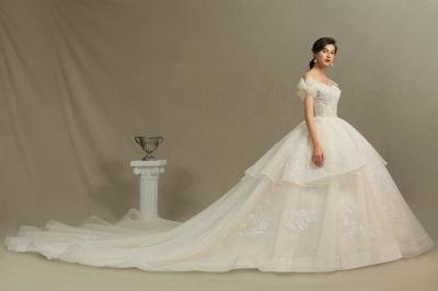 Wunderschöne Brautkleider Prinzessin | Hochzeitskleider Günstig Online_5