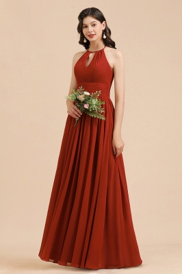 Beautiful bridesmaid dresses long red | Wedding party dresses cheap