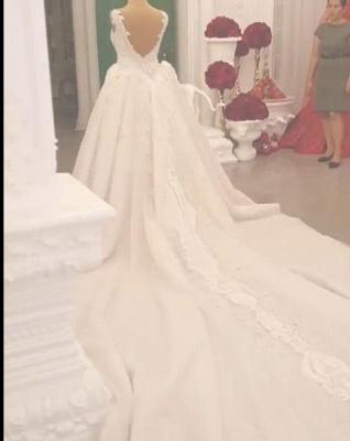 Designer Brautkleid A linie Tarnung | Extravagante Hochzeitskleider Online_5