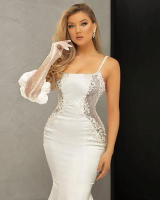 Schöne Brautkleider Meerjungfrau | Hochzeitskleider mit Spitze_3