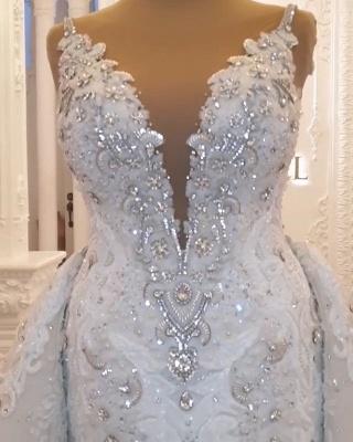 Designer Brautkleid A linie Tarnung | Extravagante Hochzeitskleider Online_3