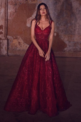 Evening dresses long glitter | Red prom dresses cheap