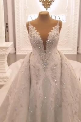 Designer Brautkleid A linie Tarnung | Extravagante Hochzeitskleider Online_1