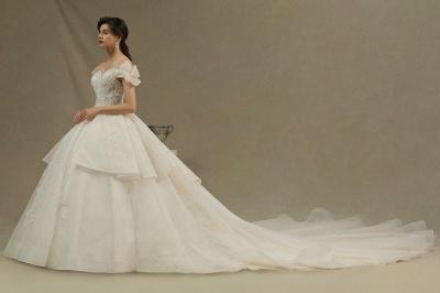 Wunderschöne Brautkleider Prinzessin | Hochzeitskleider Günstig Online_4