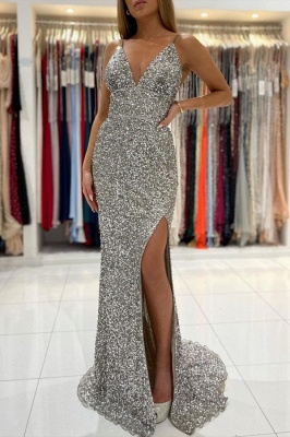 Long glitter prom dresses | Evening dresses cheap online