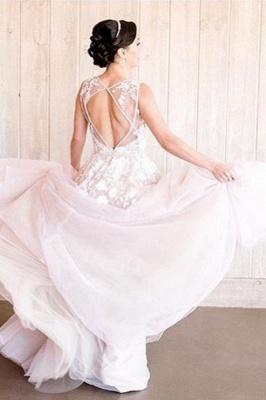 Designer Brautkleider A Linie | Hochzeitskleider Blush Pink_2