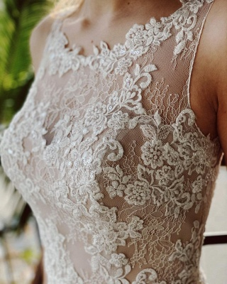 Simple wedding dress satin | Wedding dresses a line lace_4