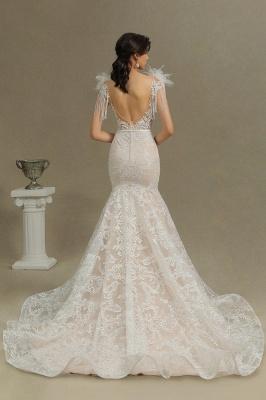 Designer Hochzeitskleider Meerjungfrau | Spitze Brautkleider Online_7