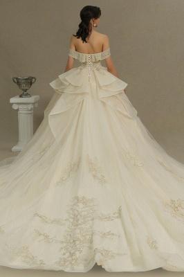 Elegante Hochzeitskleider Prinzessin | Brautkleider mit Spitze_6