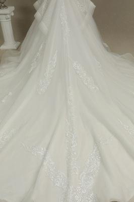 Hochzeitskleid Standesamt A Linie | Brautkleider mit Ärmel_6