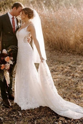 Designer wedding dresses mermaid | Wedding dresses with lace