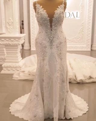 Designer Brautkleid A linie Tarnung | Extravagante Hochzeitskleider Online_2