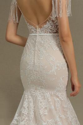 Designer Hochzeitskleider Meerjungfrau | Spitze Brautkleider Online_8