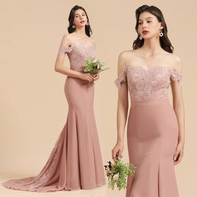 Beautiful bridesmaid dresses dusty pink | Cheap Bridesmaid Dresses_10