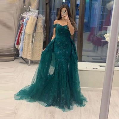 Elegante Abendkleider Grün | Abiballkleider Mit Spitze_2