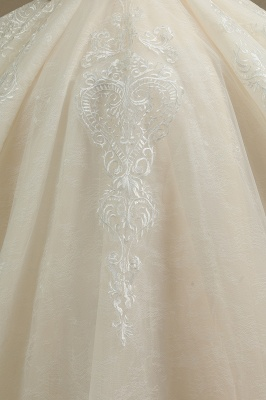 Extravagant wedding dresses A line | Wedding dresses with lace_5