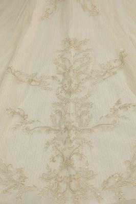 Elegante Hochzeitskleider Prinzessin | Brautkleider mit Spitze_7