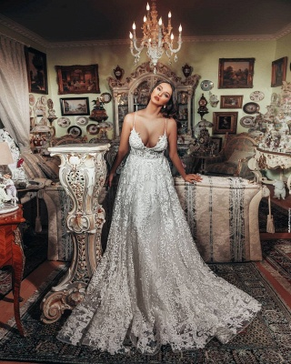 Gorgeous wedding dresses A line | Wedding dresses lace_2
