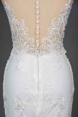 Elegant wedding dresses A line | Buy Glitter Wedding Dresses_9