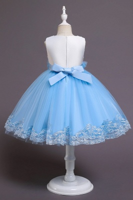 Beautiful blue flower girl dresses | Children's dresses cheap_6