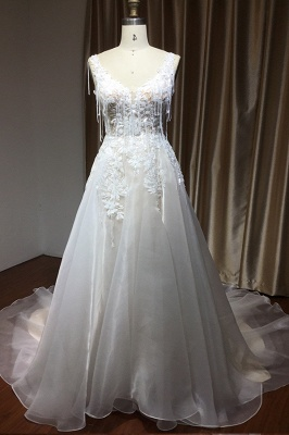 Gorgeous Wedding Dresses With Lace | Wedding dress A line_4