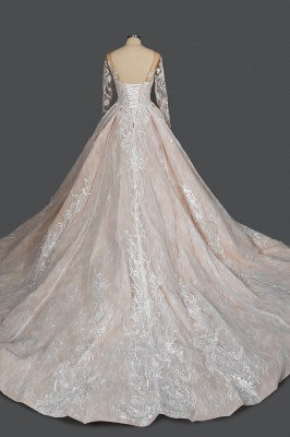 Extravagant wedding dresses with sleeves | Lace wedding dresses princess_2