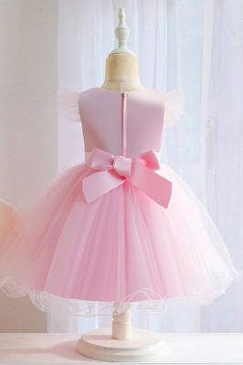 Pink Flower Girl Dresses Cheap | Children's wedding dresses online_6