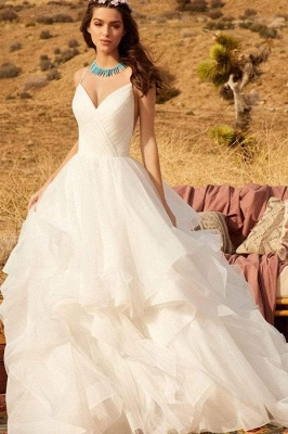 Designer Wedding Dresses Plain | Wedding dresses cheap online_5