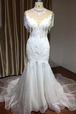 Wunderschöne Hochzeitskleider Meerjungfrau Spitze   Brautkleider Luxus_4