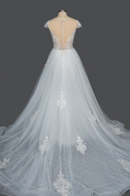 Elegant wedding dresses A line | Buy Glitter Wedding Dresses_2