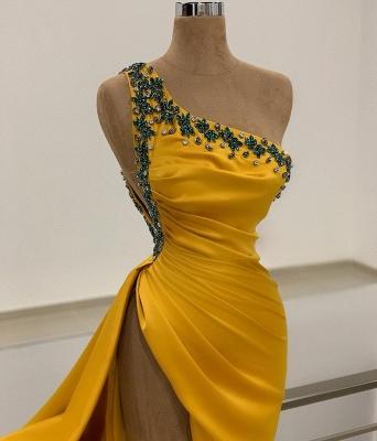 Long Gold Prom Dresses | Evening wear online_2