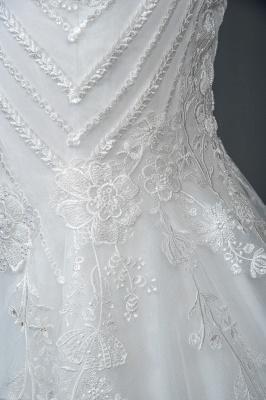 Designer Brautkleid Meerjungfrau Spitze | Hochzeitskleider Günstig Online_4