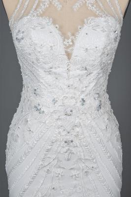 Designer Brautkleid Meerjungfrau Spitze | Hochzeitskleider Günstig Online_10