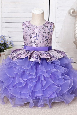 Purple children's dresses for flower girls | Flower girl dresses cheap