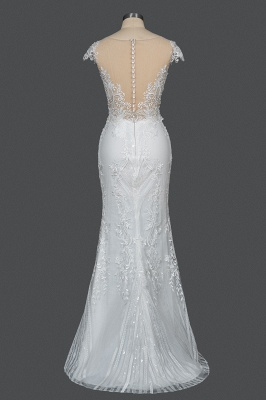 Elegant wedding dresses A line | Buy Glitter Wedding Dresses_5