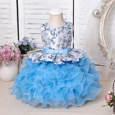 Purpur Kinder Kleider für Blumenmädchen | Blumenmädchenkleider Günstig_2