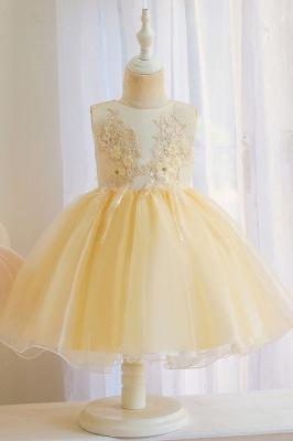 Wunderschöne Blumenmädchenkleider | Kinder Hochzeitskleider Günstig_3