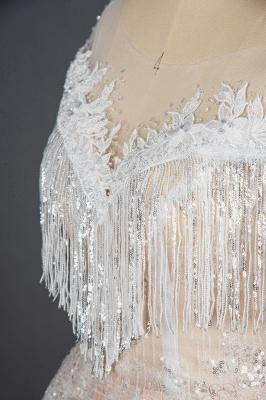 Luxury Brautkleider A Linie | Spitze Hochzeitskleider Günstig_4