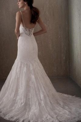 Brautkleider Meerjungfrau Spitze | Elegante Hochzeitskleider_2