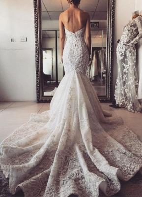 Luxury wedding dresses mermaid lace | Beautiful wedding dresses_5