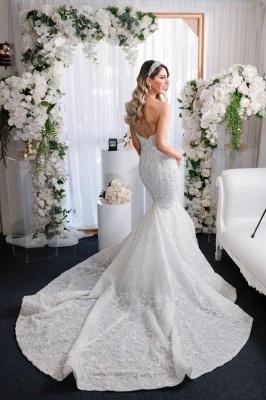 Luxury wedding dresses mermaid lace | Beautiful wedding dresses_3
