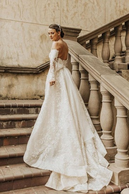 Beautiful wedding dresses with sleeves | Wedding dresses lace_3