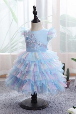 Yellow children's dresses for wedding | Flower girl dresses cheap_11