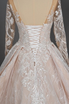 Extravagant wedding dresses with sleeves | Lace wedding dresses princess_9