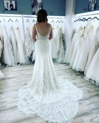 Designer Brautkleid Meerjungfrau Spitze | Hochzeitskleider Günstig_3