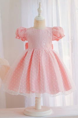 Sweet flower girl dresses pink | Children's wedding dresses