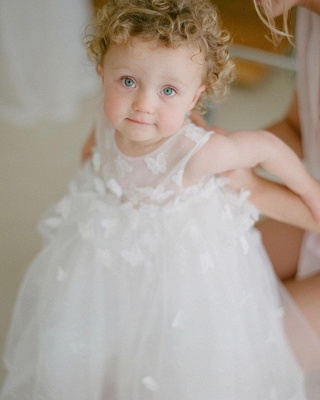 Children's wedding dresses with lace | Flower girl dresses cheap_3