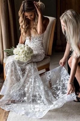 Designer Wedding Dresses Mermaid Lace | Buy bridal wear online_5